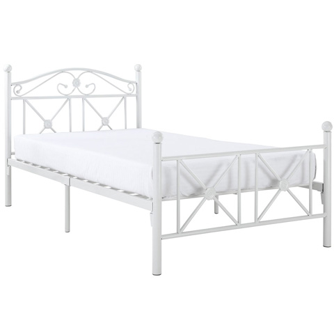 Image of Cottage Twin Bed in White