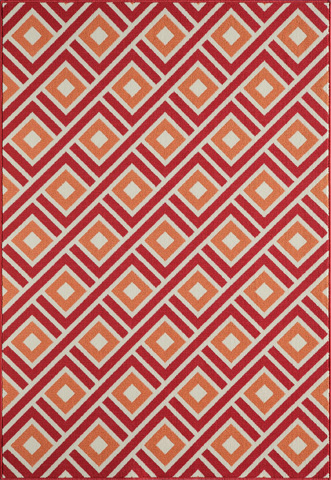Image of Baja Rug in Red