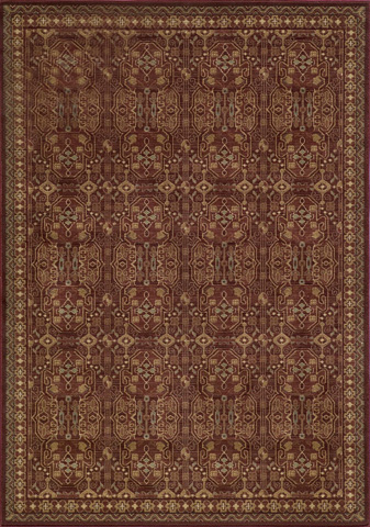 Image of Belmont Rug in Red
