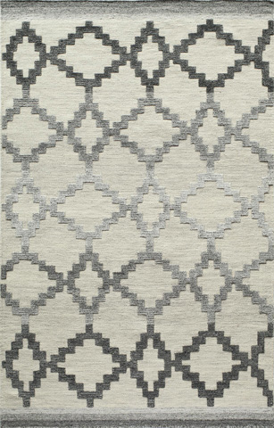 Image of Boho Rug in Grey