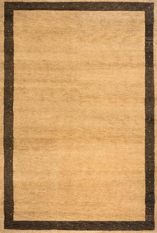 Image of Desert Gabbeh Rug in Camel
