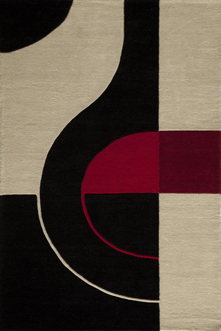 Image of Delhi Rug in Black