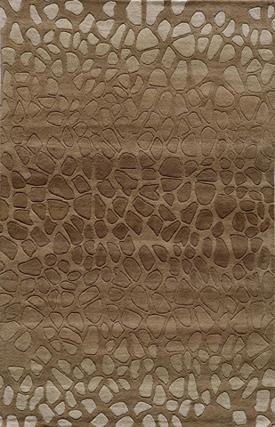 Image of Delhi Rug in Brown