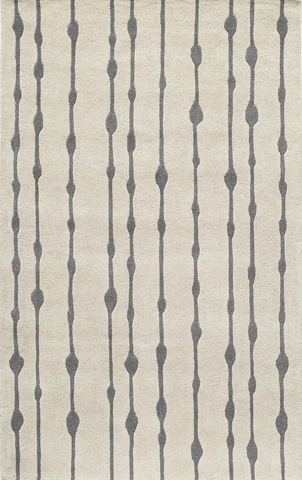 Image of Delhi Rug in Grey