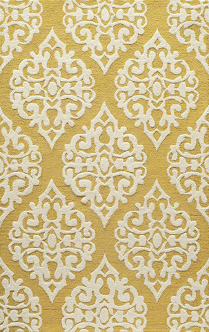 Image of Dunes Rug in Gold