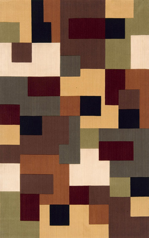 Image of Elements Rug in Multi