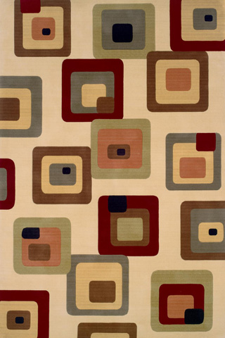 Image of Elements Rug in Ivory