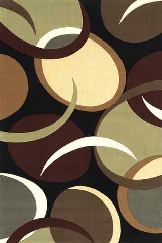 Image of Elements Rug in Black
