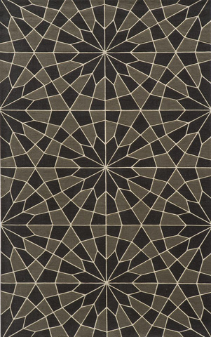 Image of Elements Rug in Charcoal