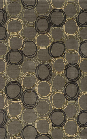 Image of Elements Rug in Grey