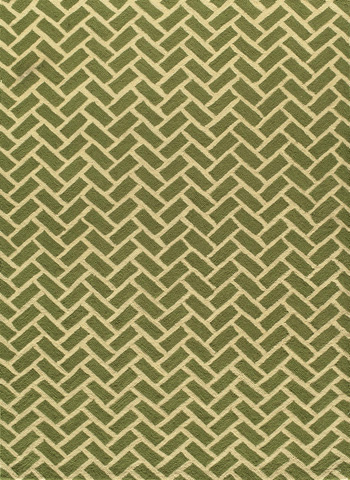 Image of Geo Rug in Green