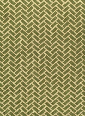 Image of Geo Rug in Green
