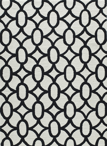 Image of Geo Rug in Black