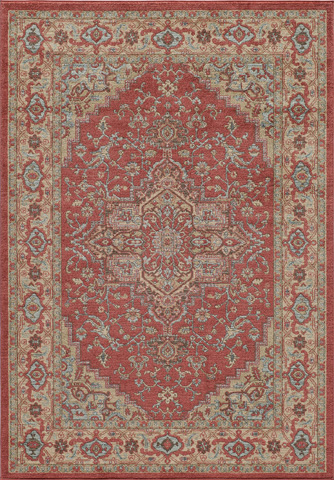Momeni - Ghazni Rug in Red - GZ-04 RED