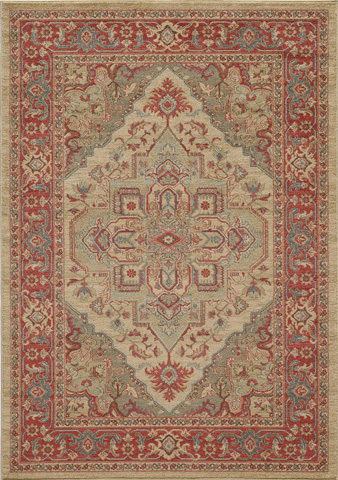 Image of Ghazni Rug in Beige