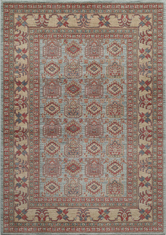 Image of Ghazni Rug in Light Blue