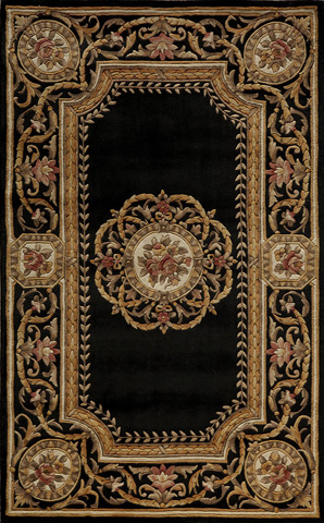 Image of Harmony Rug in Black
