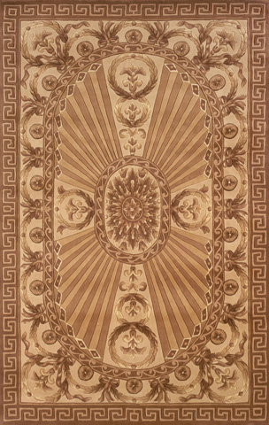 Image of Harmony Rug in Light Brown