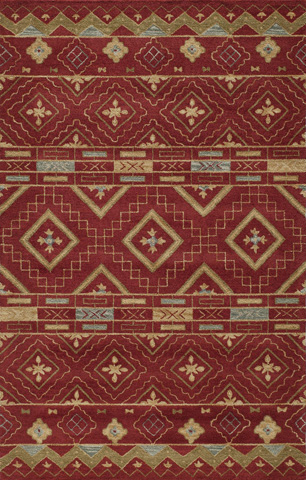 Image of Habitat Rug in Red