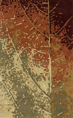 Image of Impressions Rug in Leaf