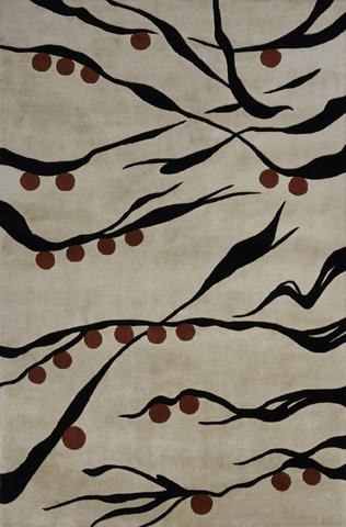 Image of Koi Rug in Beige