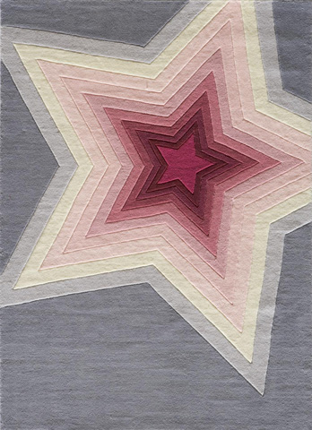 Image of Lil Mo Hipster Rug in Superstar