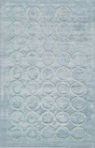 Image of Millenia Rug in Light Blue
