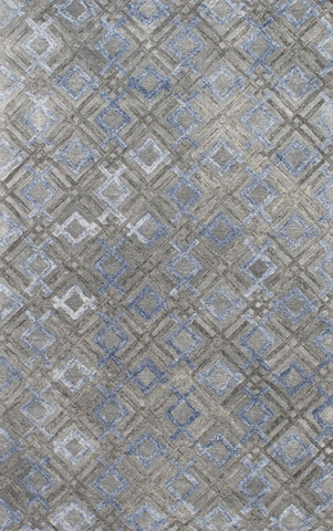 Image of Millenia Rug in Silver