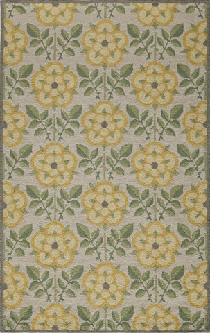Momeni - Newport Rug in Yellow - NP-07 YELLOW