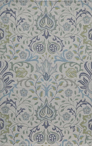 Image of Newport Rug in Blue