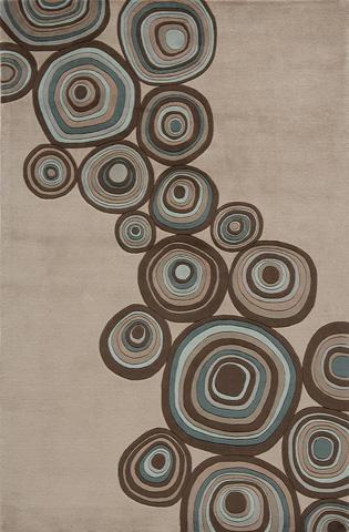 Image of New Wave Rug in Mushroom