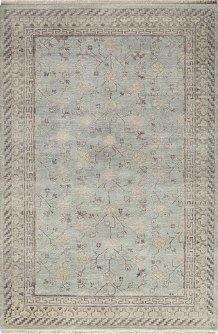 Image of Palace Rug in Light Blue