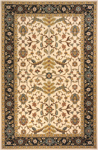 Image of Persian Garden Rug in Charcoal