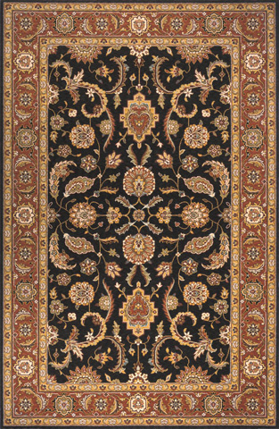 Image of Persian Garden Rug in Salmon