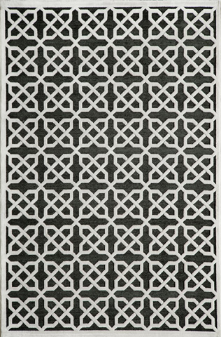 Image of Nepalese Solids Rug in Black