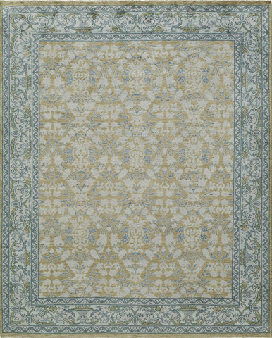 Image of Patina Rug in Citron