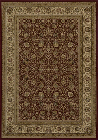 Image of Royal Rug in Red