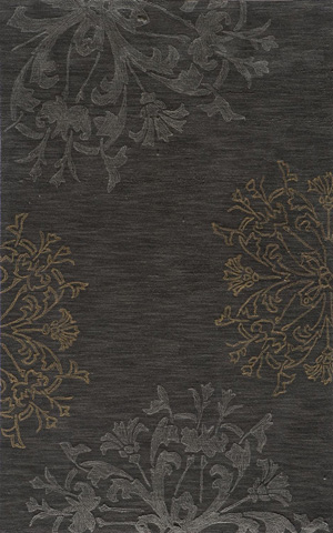 Image of Sensations Rug in Charcoal