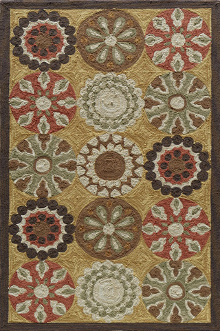 Image of Summit Rug in Gold