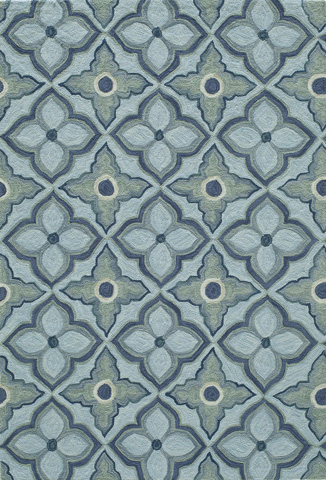 Image of Summit Rug in Blue