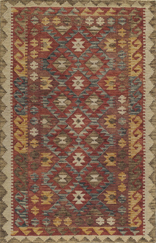 Image of Tangier Rug in Red
