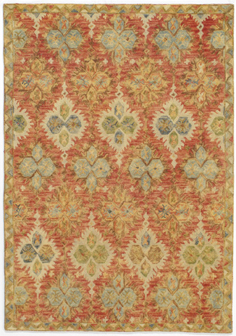 Momeni - Tangier Rug in Red - TAN-17 RED