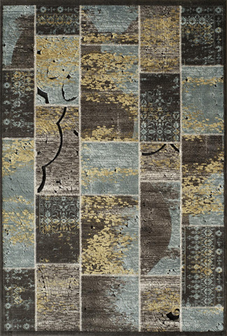 Image of Vogue Rug in Blue