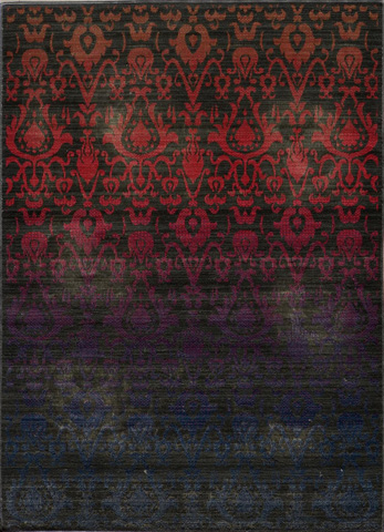 Image of Vintage Rug in Ombre