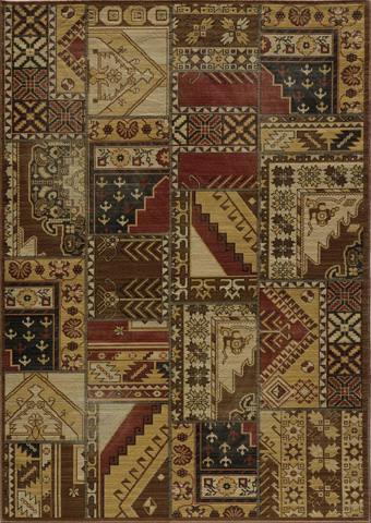 Image of Vintage Rug in Gold