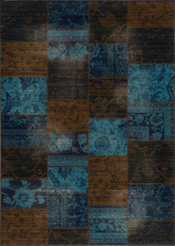 Image of Vintage Rug in Indigo