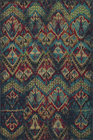 Image of Vintage Rug in Blue