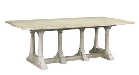 Mr. and Mrs. Howard by Sherrill Furniture - Arles Dining Table - MH10011
