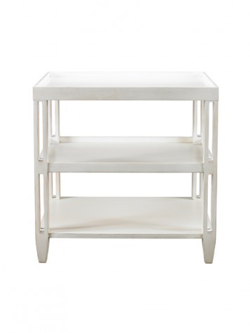 Mr. and Mrs. Howard by Sherrill Furniture - Rennie's Side Table - MH10321