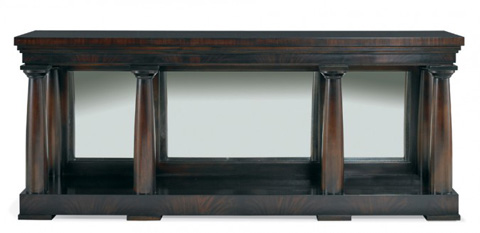 Mr. and Mrs. Howard by Sherrill Furniture - Colonnade Doric Console - MH14331